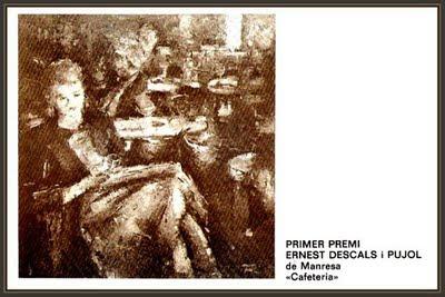 LERIDA-LLEIDA-ERNEST DESCALS-PINTURA-CERCLE DE BELLES ARTS