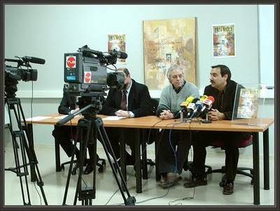 EXPO BAGES-RUEDA-PRENSA-MEDIOS-COMUNICACION-PRESENTACION-CARTEL-PINTOR-ERNEST DESCALS
