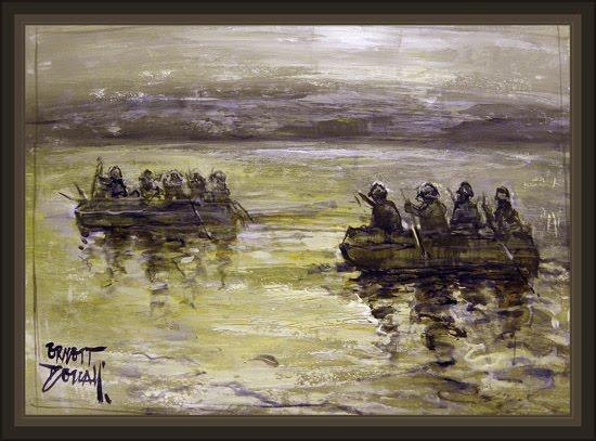 WW2-GERMAN SOLDIERS-SOLDADO ALEMAN-ART-ARTE-PINTURAS-PIONEROS-ERNEST DESCALS