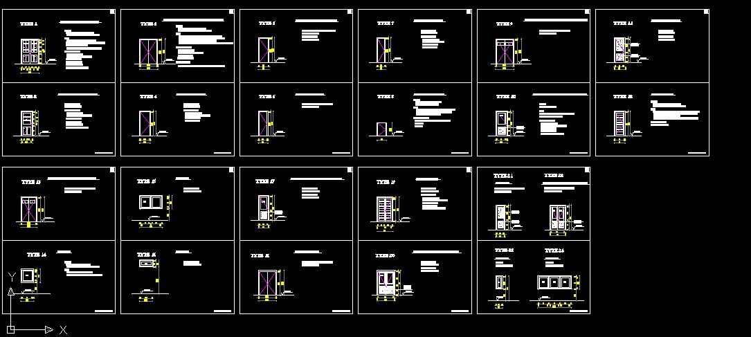 Architecturewrassi3ali fichier autocad format dwg for Porte 3d dwg