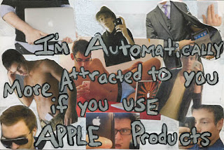 postsecret: i'm automatically more attracted to you if you use apple products