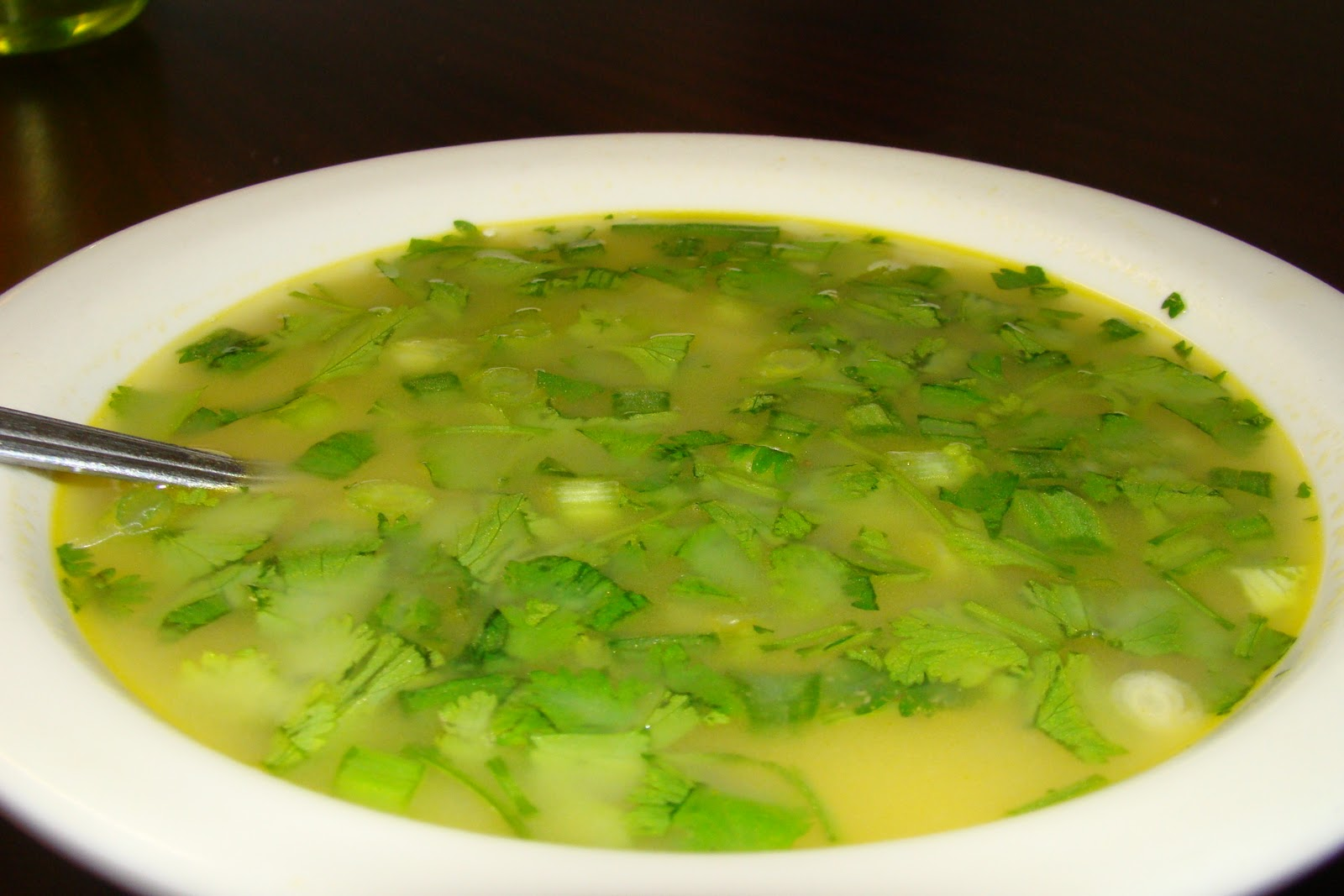 nicks n jits kitchen: Lemon and coriander soup