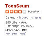 Toonseum on Yelp
