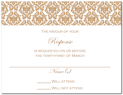 Minji 39s Wedding Invitation Reception and RSVP Cards