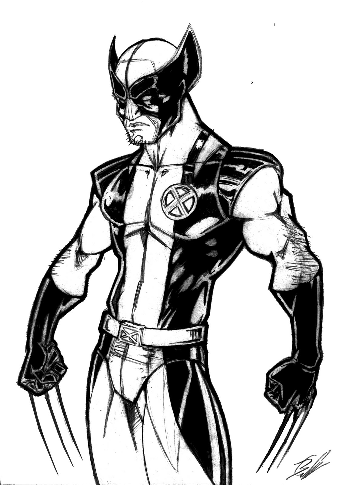 Free Coloring Pages Of Spiderman Wolverine