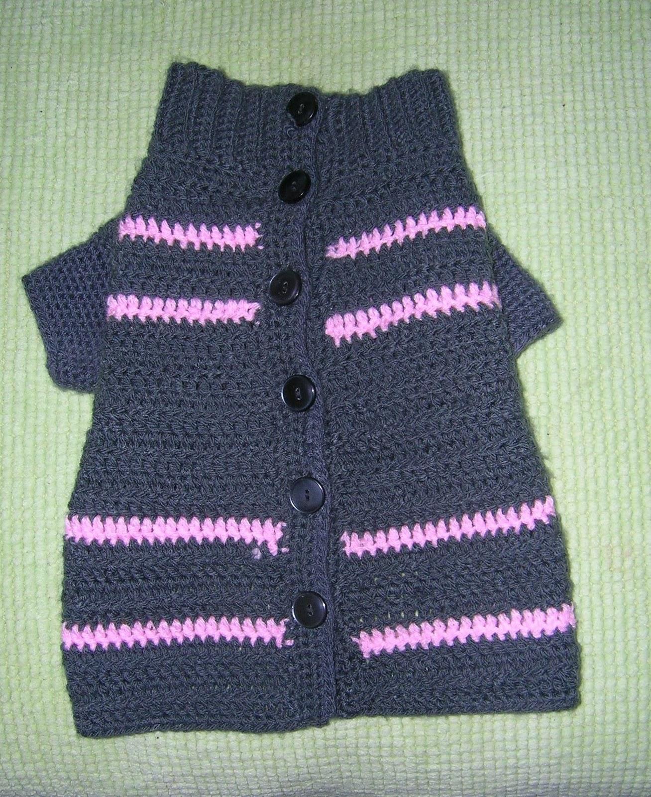 Como Tejer Un Sueter Para Perro A Crochet - Sweater Grey
