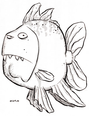 Kennon 39 s art blog april 2007 for Clever fish names