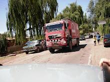 Camion MAN (en mendoza) Raly Dakar 2009