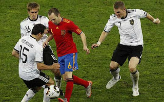 Foto Dan video Jerman Vs Spanyol 0-1
