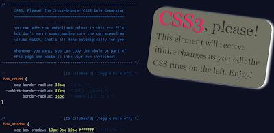 CSS3, Please
