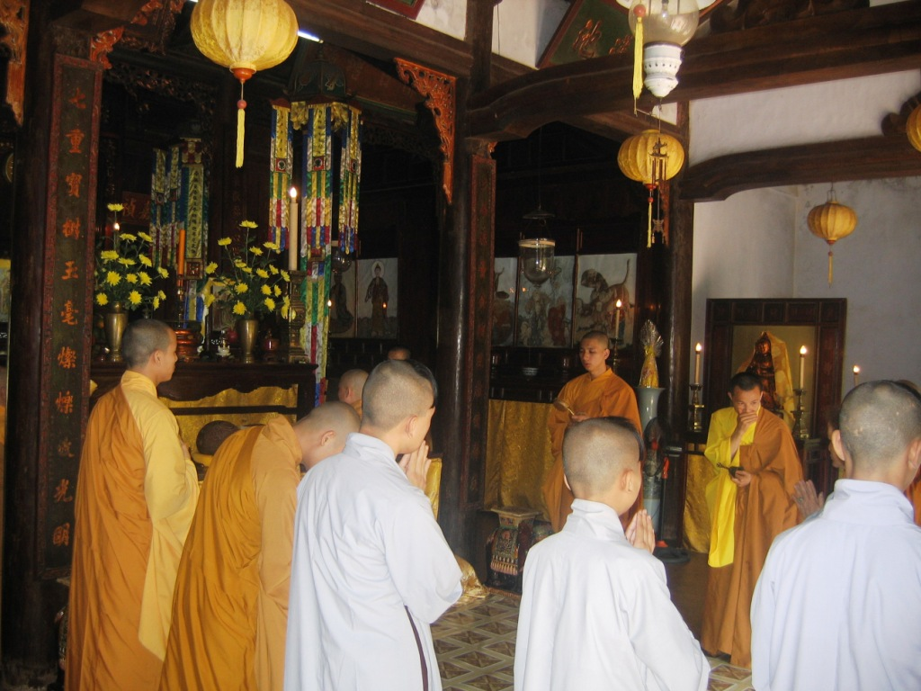 Next stop was the Tu Thien temple, which is dedicated to a Buddhist priest who took care of his mother. A king during the mid-1800s found this priest living ...