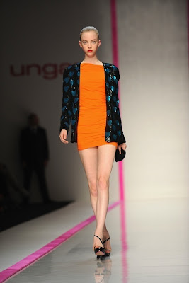 Lindsay Lohan working with Ungaro
