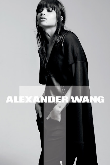 T by Alexander Wang Campaign with Zoe Kravitz