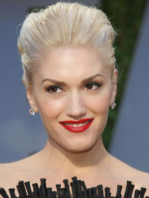 gwen stefani hair up. gwen stefani hair color. gwen