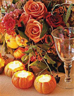 Fall Wedding Receptions