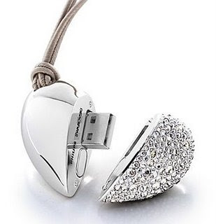 USB Flash pen drives - diamond