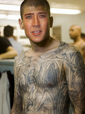 Nic Cage as Michael Scofield. Chuck Nunchuck has a map of every McDonald's