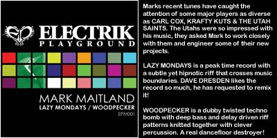 Mark Maitland - Lazy Mondays