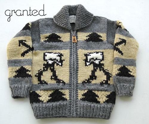 Star Wars Knitting Patterns : STRANDED KOSMONAUT: Wish List: Star Wars Knit Sweater
