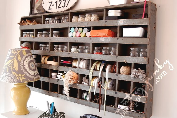 Craft room ideas and inspiration craving some creativity for Craft supplies organization ideas