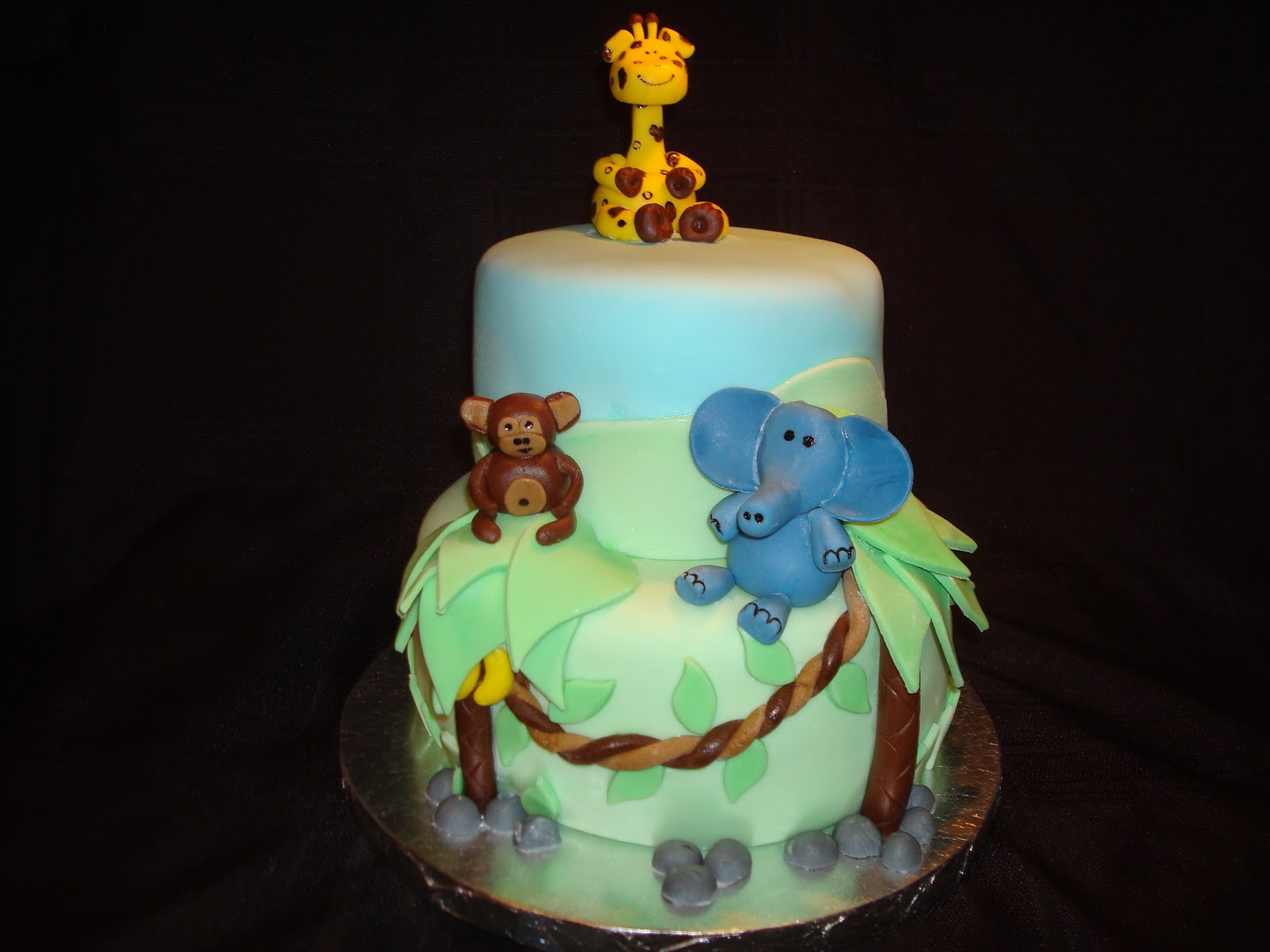 cake 39 n 39 bake sisters jungle baby shower