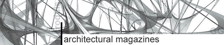 architectural magazines