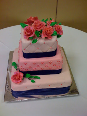 Here 39s La La 39s cake that was my first wedding cake