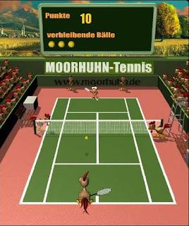 Game Moorhuhn Tennis Download