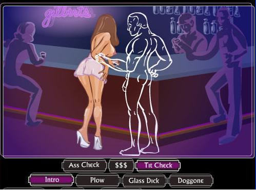 Sex mini flash game