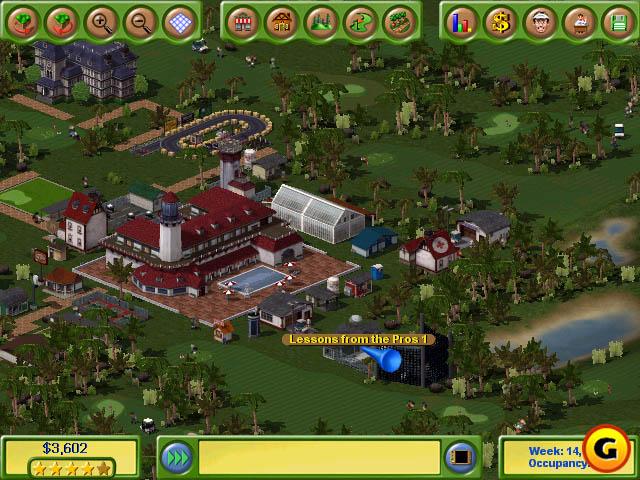 game: Golf Resort Tycoon 2 (free Pc Game-ziddu)