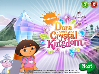 Game Dora Saves the Crystal Kingdom