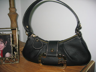 my new Guess purse, from the boyfriend