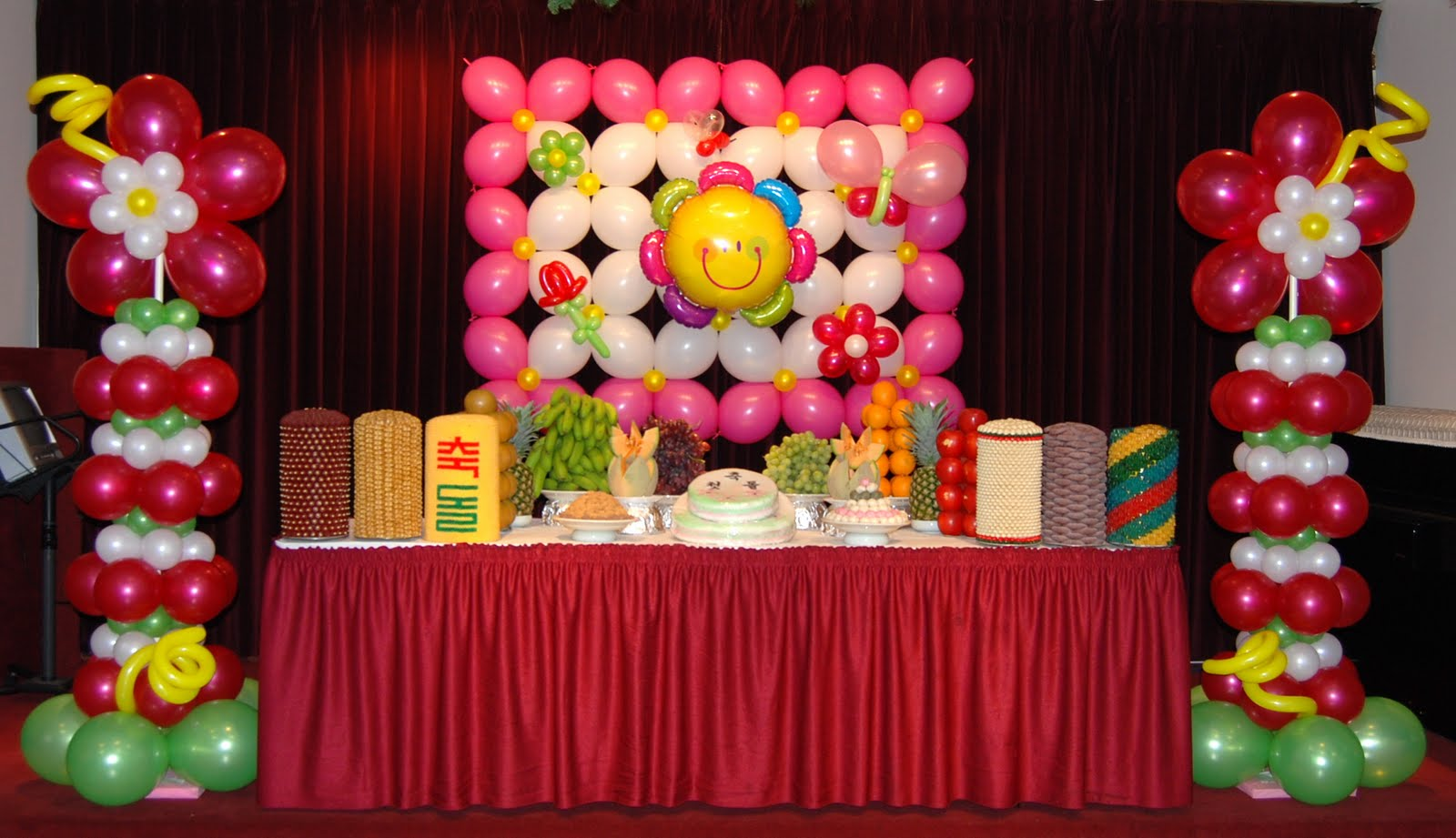 Most recent balloon decor packages balloon decor for Balloon decoration packages