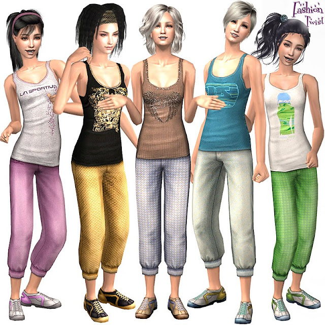 how to download clothes for sims 2