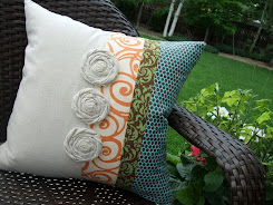 Pillow Tutorial & Pattern...Damask, Swirls & Polka-dots II...