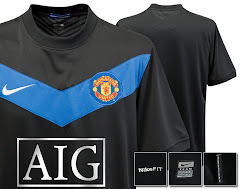 MAN UTD NEW 09/10 AWAY KIT