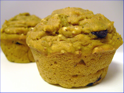 ... : VeganMoFo – Pumpkin, Millet, and Chocolate Chip Mini Muffins