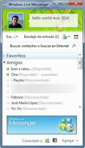 window live msn espanol: