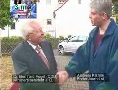 Dr. Bernhard Vogel, Ministerpräsident a. D.