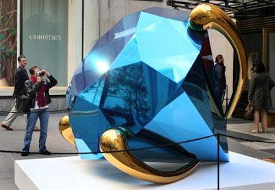 Costly Blue Diamond