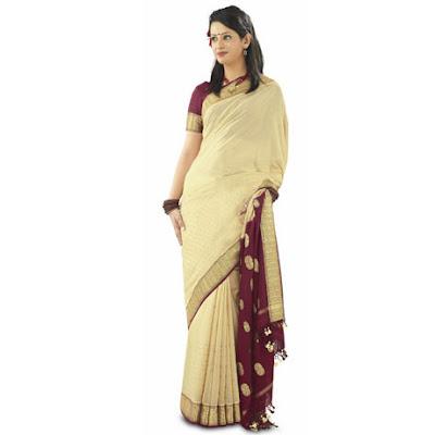 RMKV Mysore Silk Sari designs