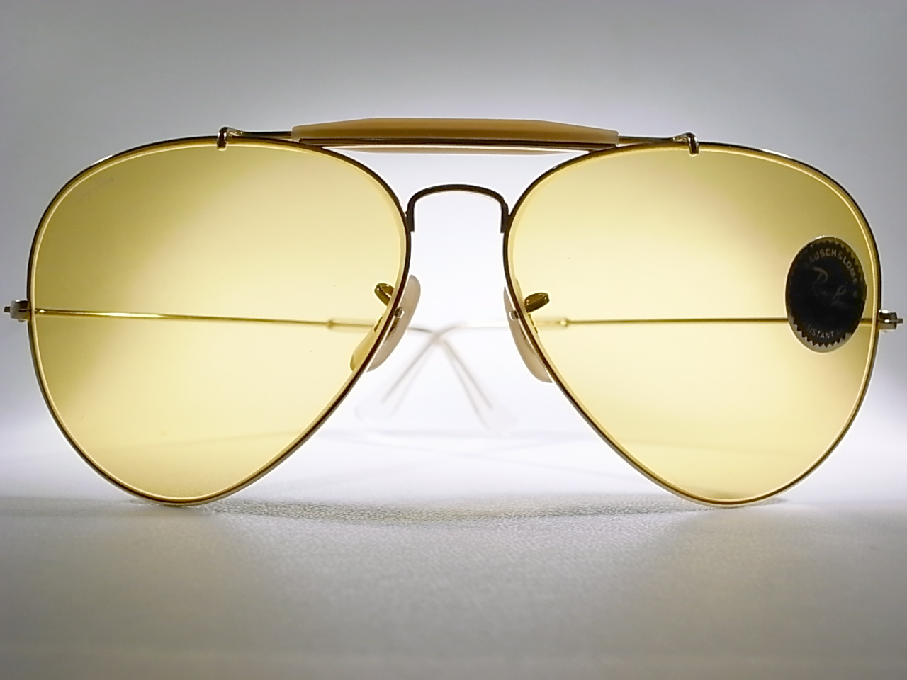 Melody style top top x b l ray ban aviator for Ray ban aviator miroir homme