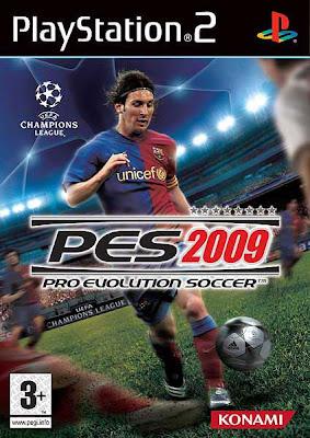 Pro Evolution Soccer 2009 Playstation 2