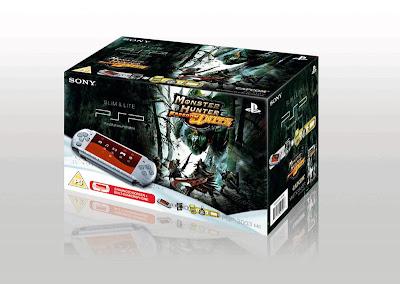 Monster Hunter Freedom Unite Bundle PSP 3000