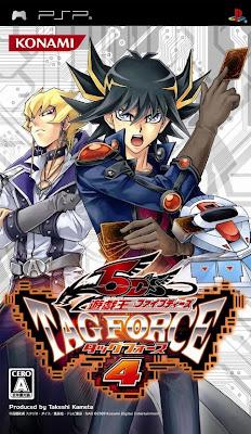 Yu-Gi-Oh! 5D's Tag Force 4 PSP