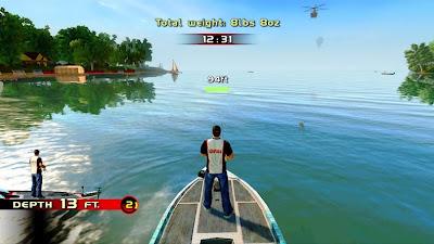 Rapala Pro Bass Fishing 2010 PSP
