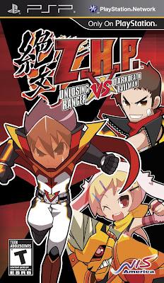 Z.H.P. Unlosing Ranger vs. Darkdeath Evilman PSP