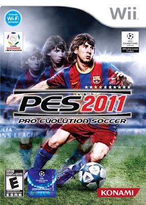 Pro Evolution Soccer 2011 Wii