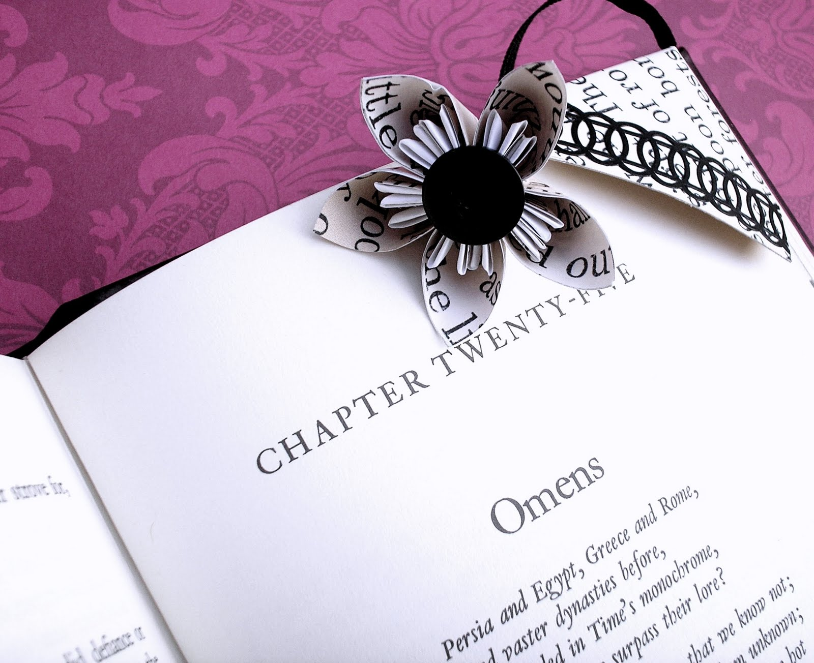 Ramblings Of An Artistic Diva Corner Bookmark Featuring A