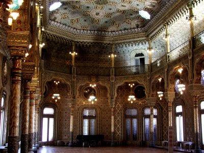 Salão Árabe do Palácio da Bolsa, Porto, © António Baeta Oliveira